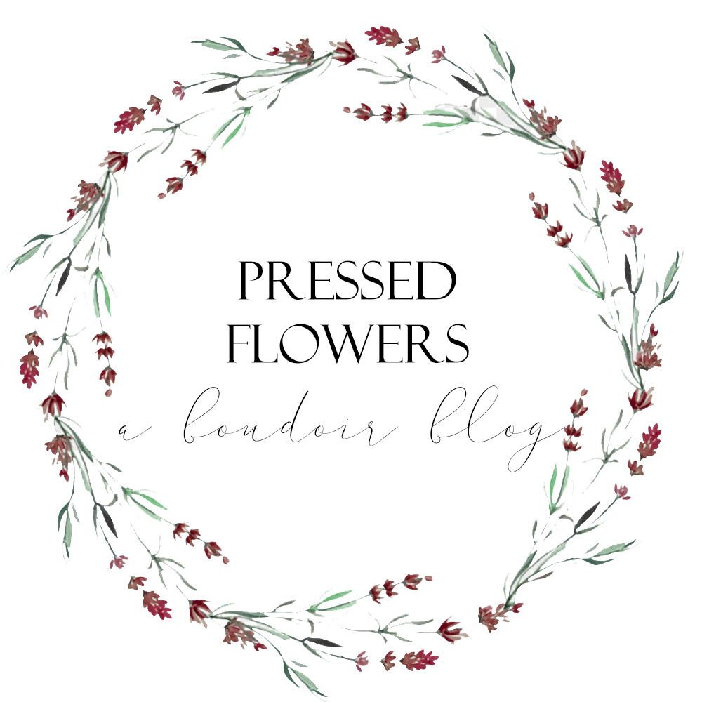 Pressed Flowers Boudoir