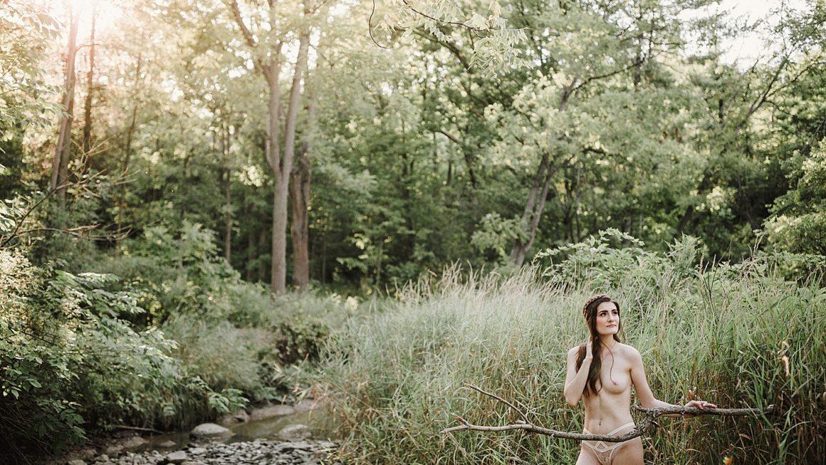 Outdoor Nude Boudoir Shoot
