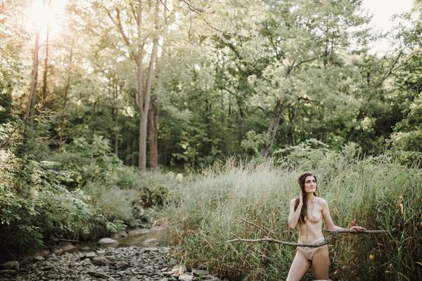 Outdoor Nude Boudoir Shoot