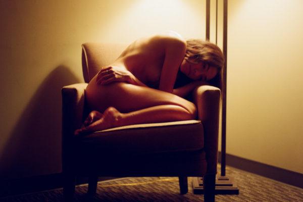 Moody Hotel Room Boudoir